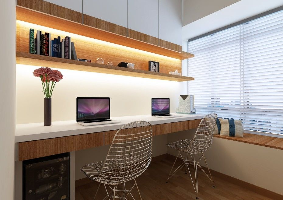 inspiring minimalist boy bedroom design modern office furniture | Desk Chairs Modern Minimalist Home Study Small Work Desk ...
