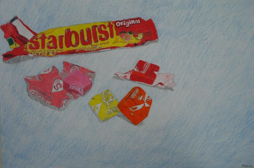 Hs Photo Realism Candy Drawing Candy Drawing Painting Projects
