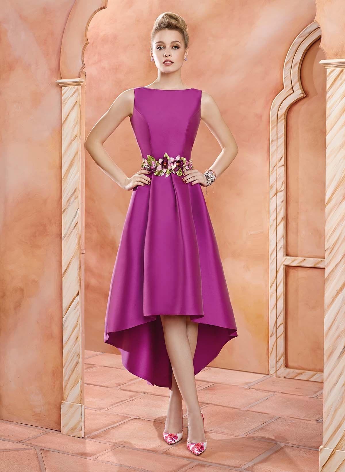 Vestido de Fiesta de Valerio Luna (VL4715), medio | dibujos que ...