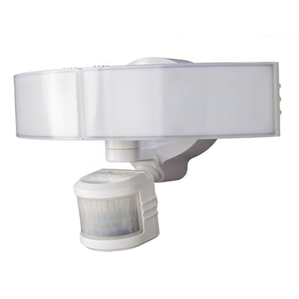 Defiant 270 Degree White LED Bluetooth Motion Outdoor Security Light ...