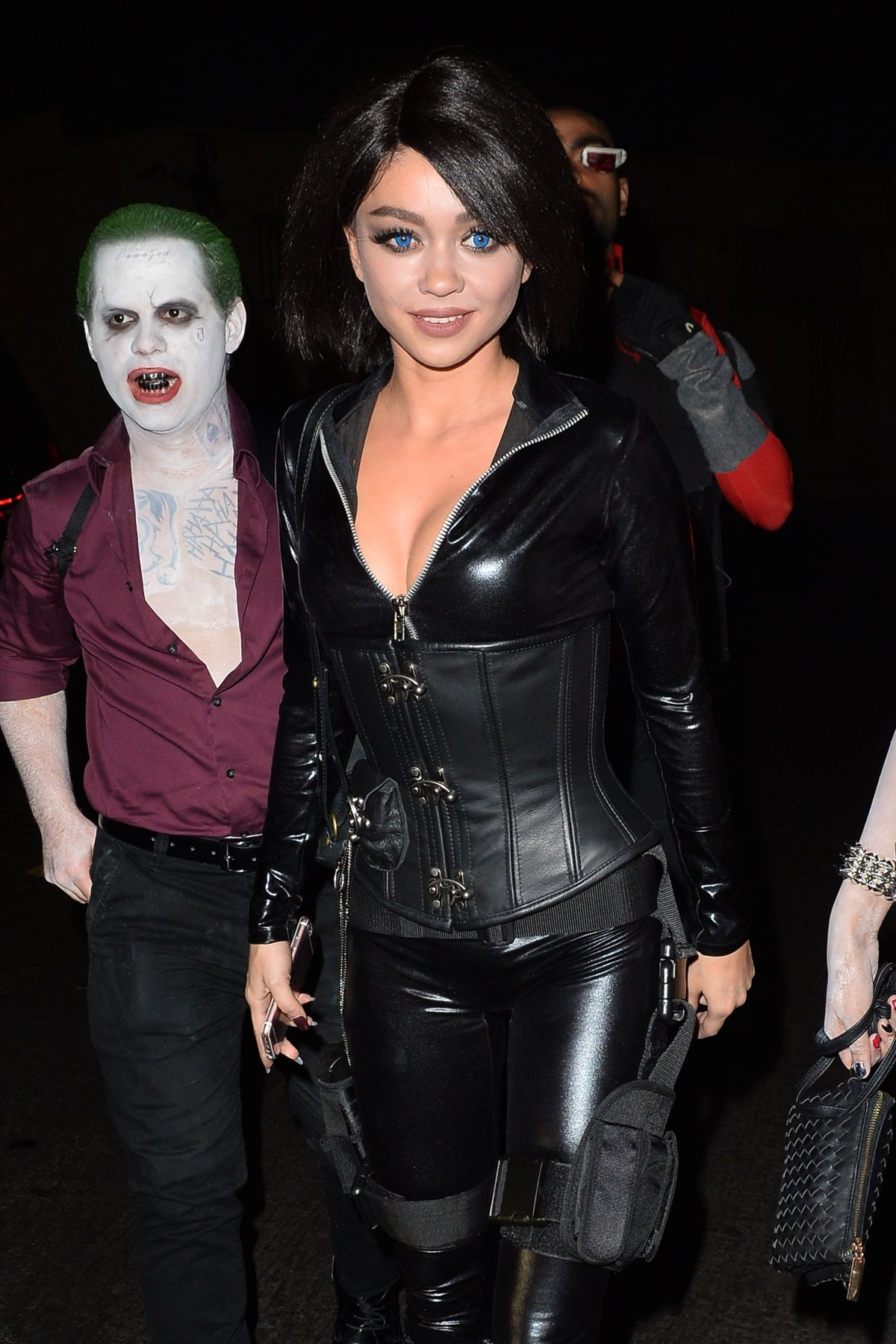 Sarah Hyland attends the Just Jared Halloween Party in Hollywood ...