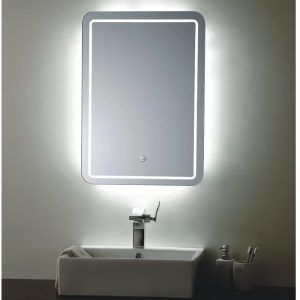Wall Lights Glamorous Led Bathroom Mirrors 2017 Design Throughout Proportions 925 X 1013 With Cork