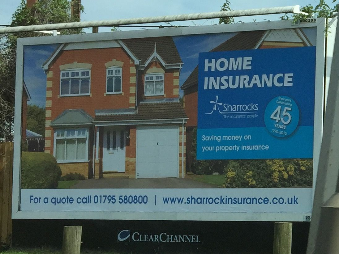Our first billboard! | Saving money, Home insurance, Property