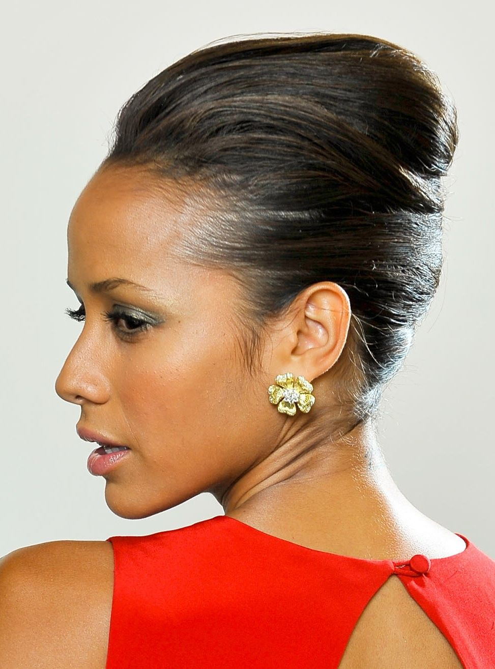 Classy updos for prom weddings even everyday dania ramirez black hair updos classy updos for prom weddings even everyday pmusecretfo Images