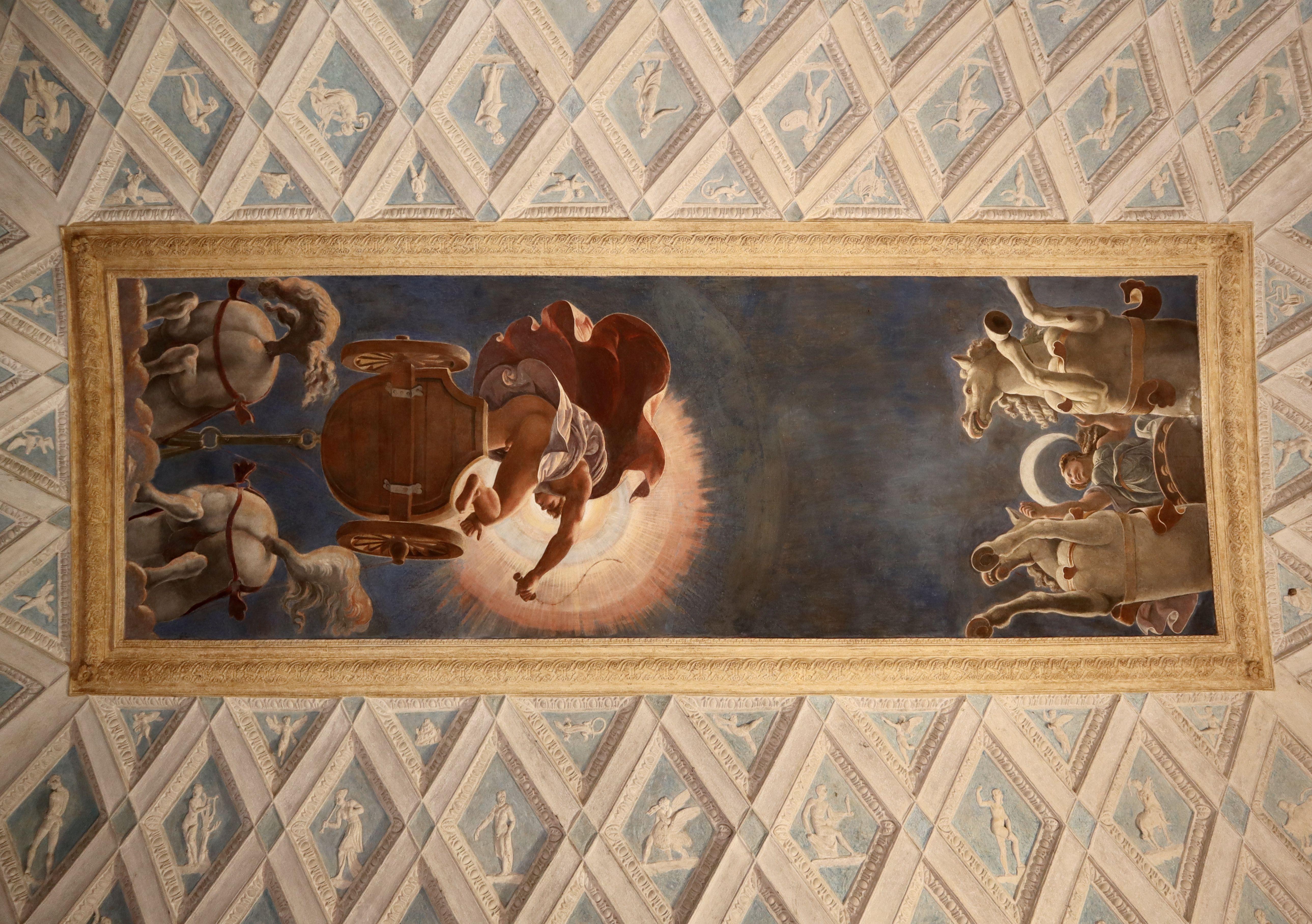 Camera Del Sole E Della Luna Soffitto Palazzo Te Mantova Ph