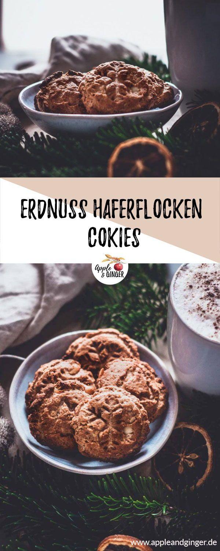 Photo of Erdnuss-Haferflocken-Cookies | Apple and Ginger