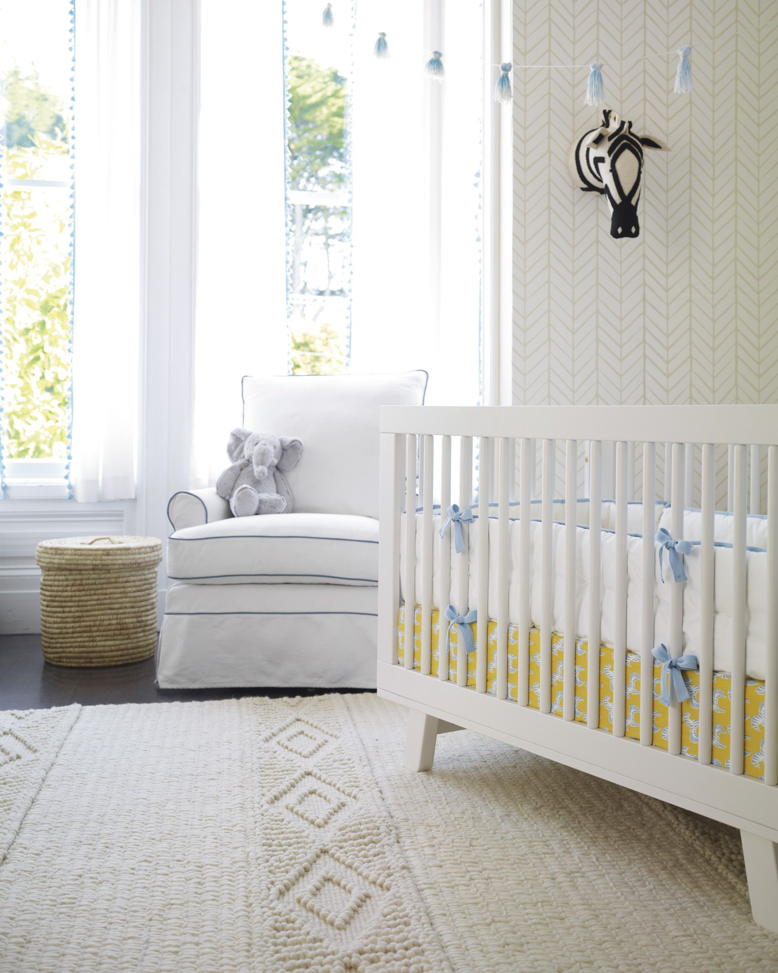 Shop the Nursery Basics Collection - Chambray and the rest of our designer  Nursery Dcor at Serena and Lily.