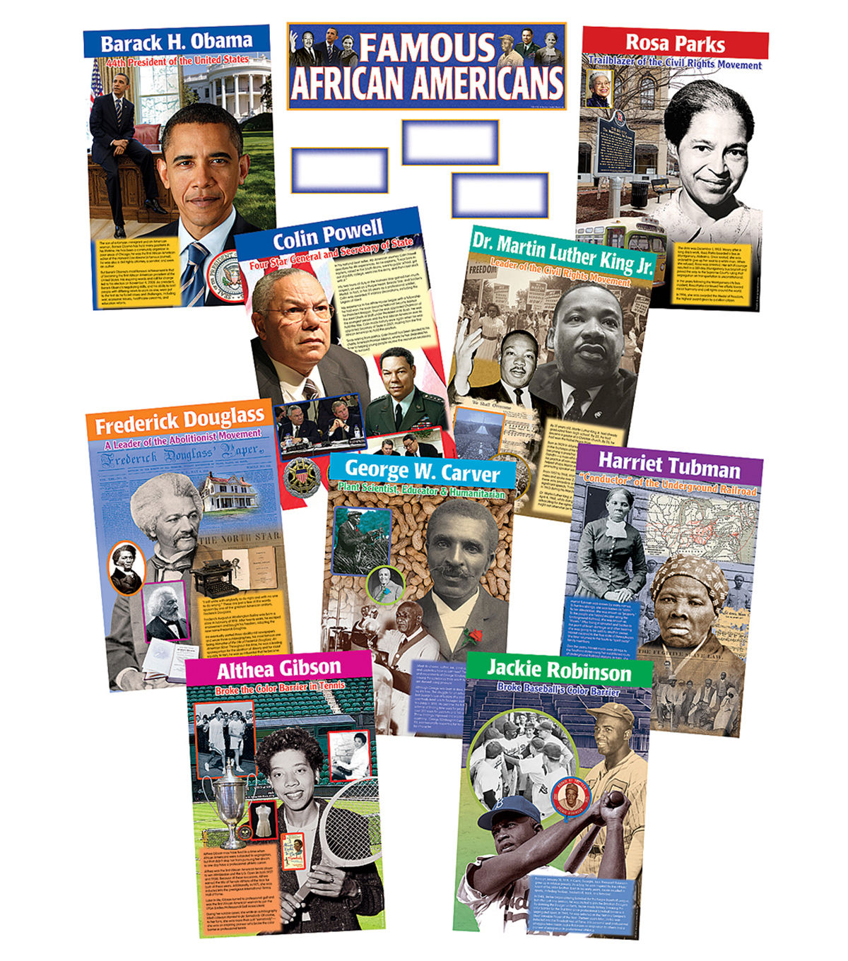 Teacher Created Resources Famous African Americans