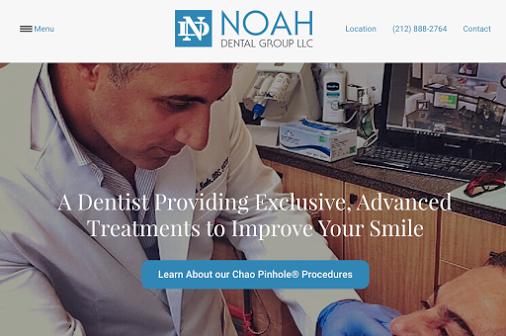 Noah Dental Group Dental website