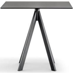 Photo of Pedrali Arki-Base Ark4 table 80 x 80cm white laminate white PedraliPedrali
