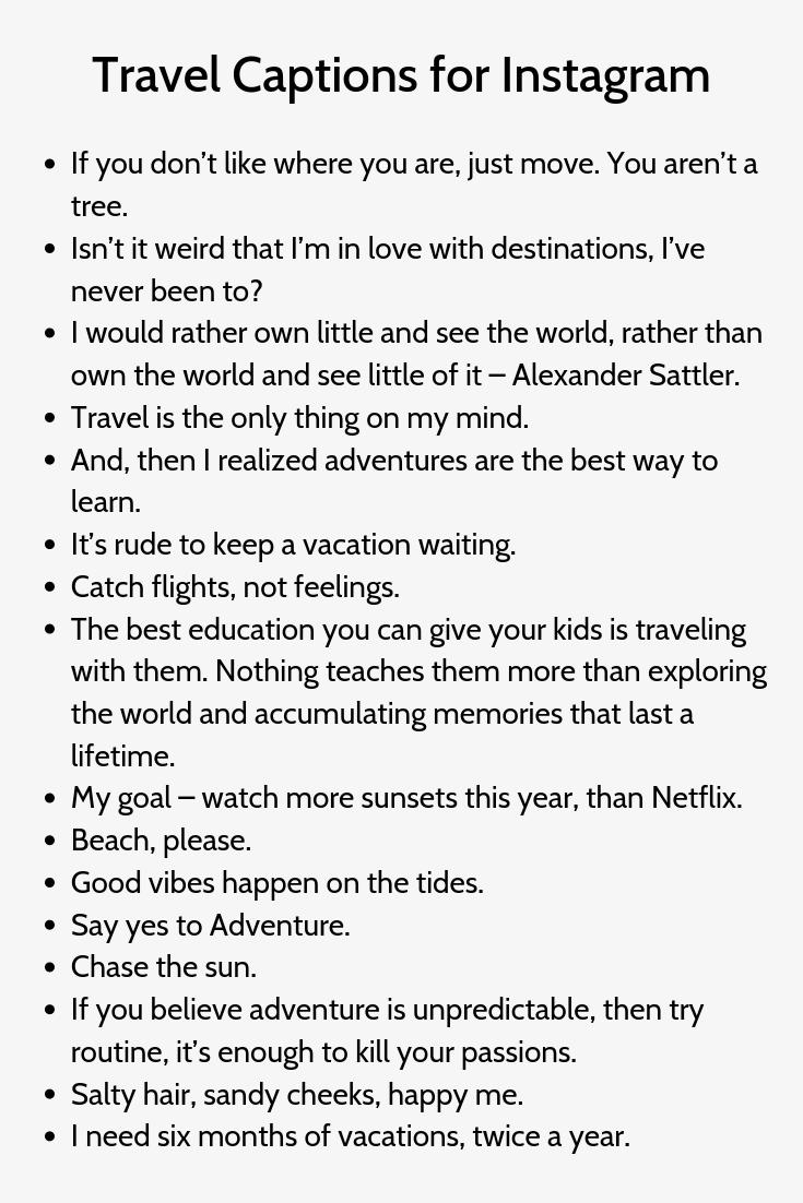 Journey Captions For Instagram5 Travel Captions Instagram Captions Travel Instagram Quotes Captions