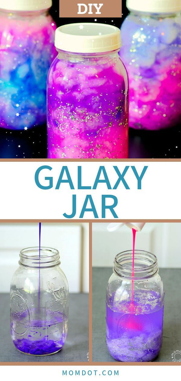 Photo of Galaxy Jar DIY Hold the Galaxy Glowing in your hands