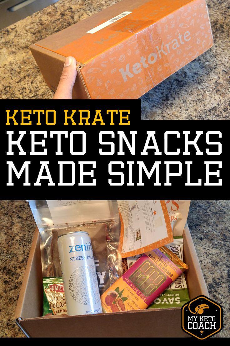 My good friends at KETOKRATE sent me this box of keto
