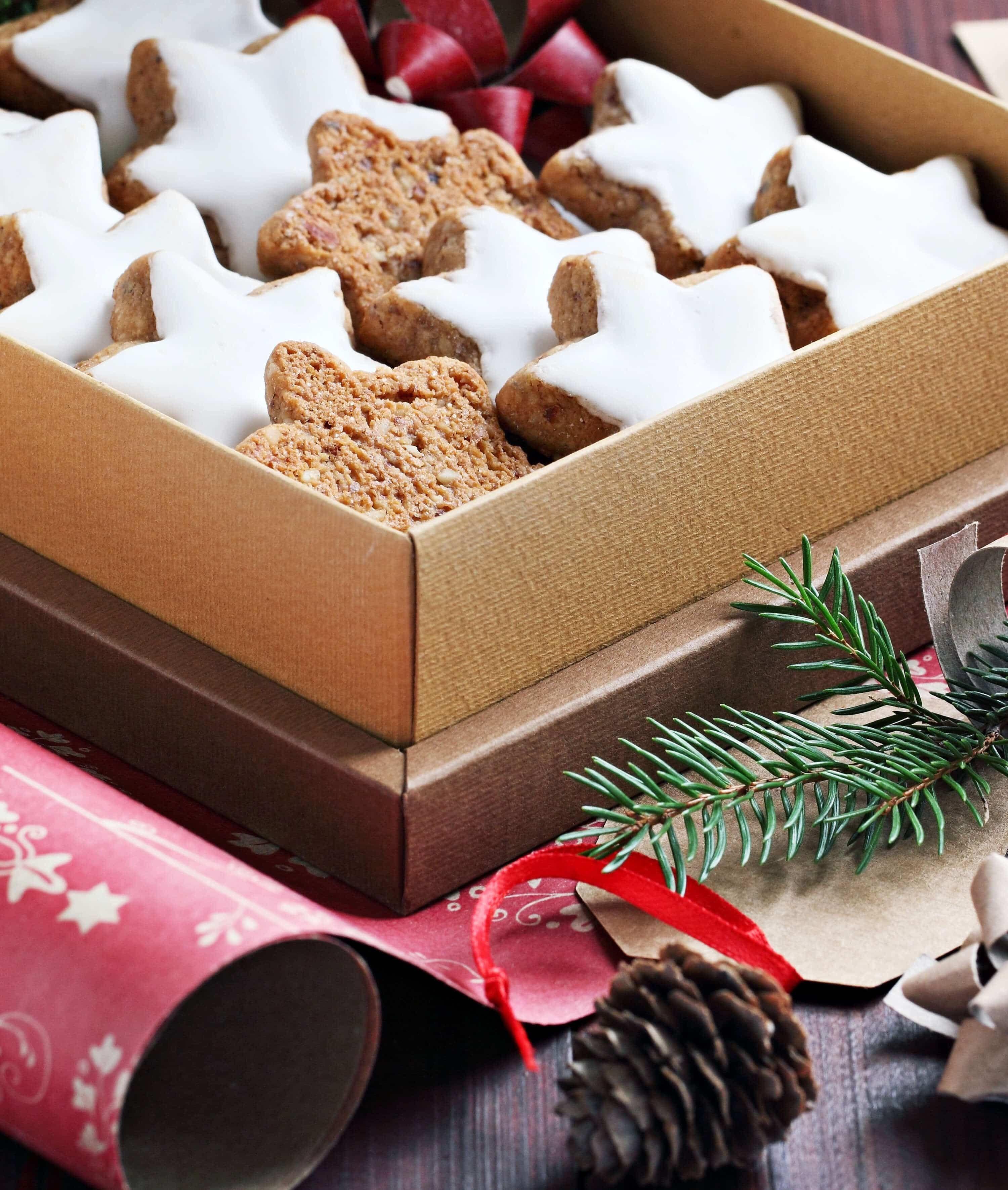Zimtsterne German Cinnamon Star Cookies