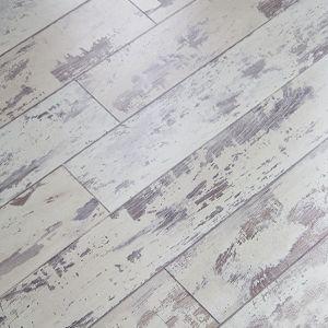Cottage Oak Flooring Looks Like Old White Chippy Painted
