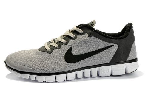 nike free 3.0 v2 mens running shoe wolf grey black beige · chaussures