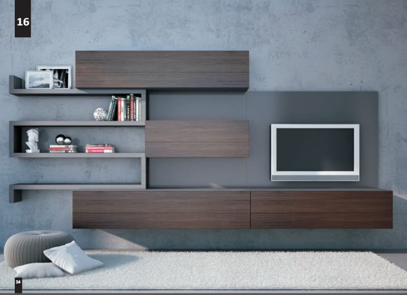 Composizioni Soggiorno Design ~ Kico living composizione n. 16 moderno soggiorno placares 1