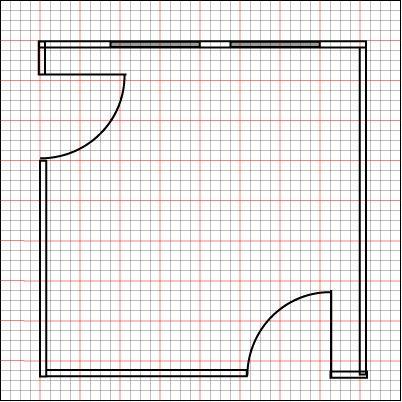draw a floor plan to scale | zeichnungsanleitung, bau und one piece, Innenarchitektur ideen