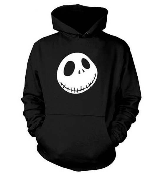 Jack Hoodie Nightmare Before Christmas Sweatshirt Record Shirt ...