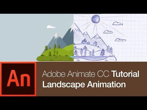 Animate CC Tutorial: Create a Nature Landscape Animation