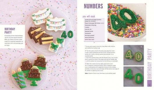 review and giveaway of Decorating Cookies Party from @decoratedcookie