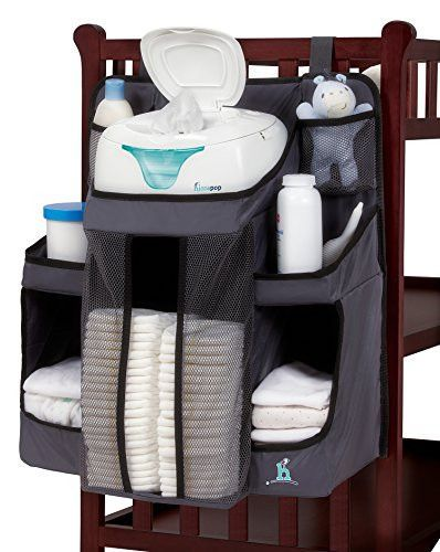 Nursery Organizer and Baby Diaper | Hanging Diaper Organization ...