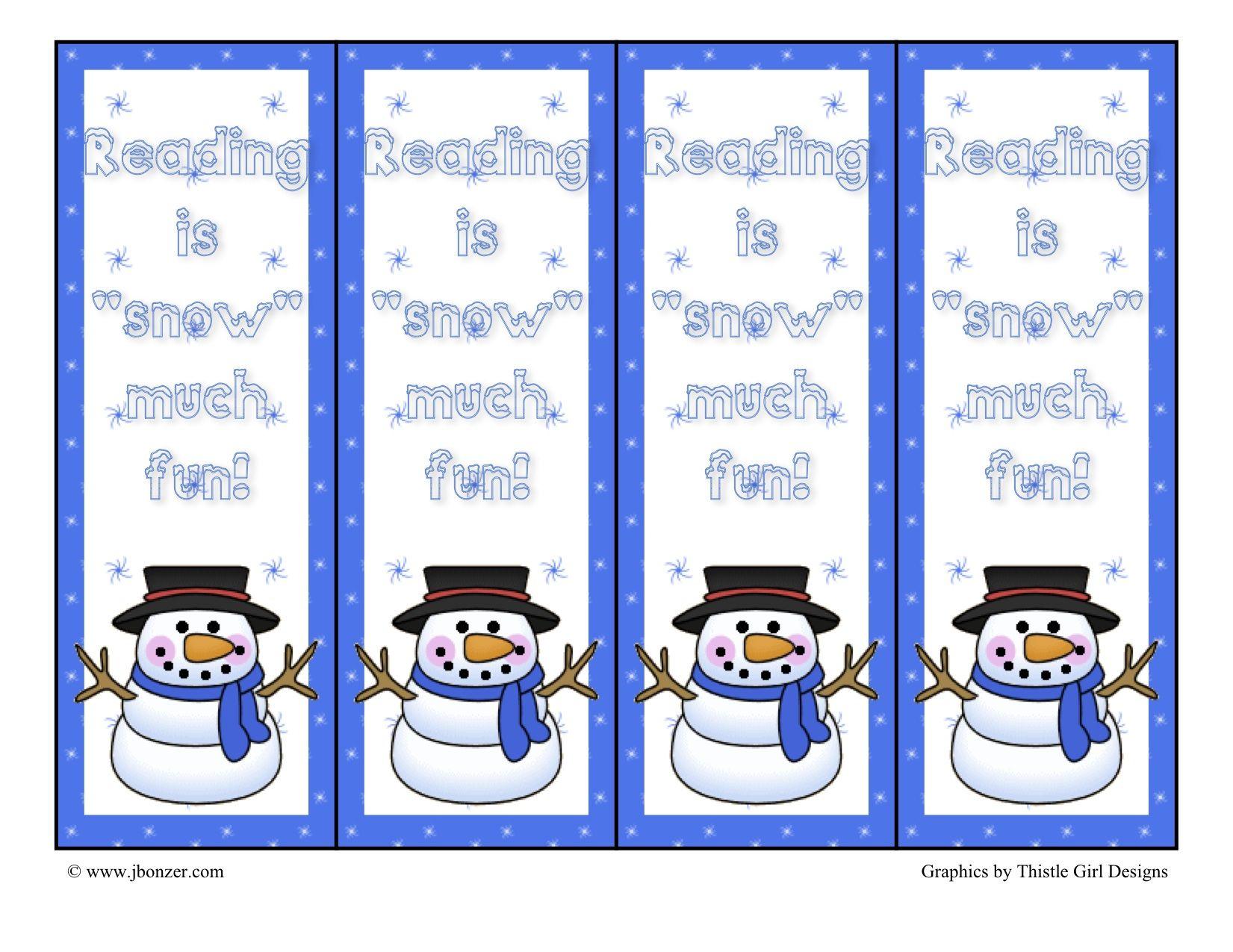 Snowman Printable Images