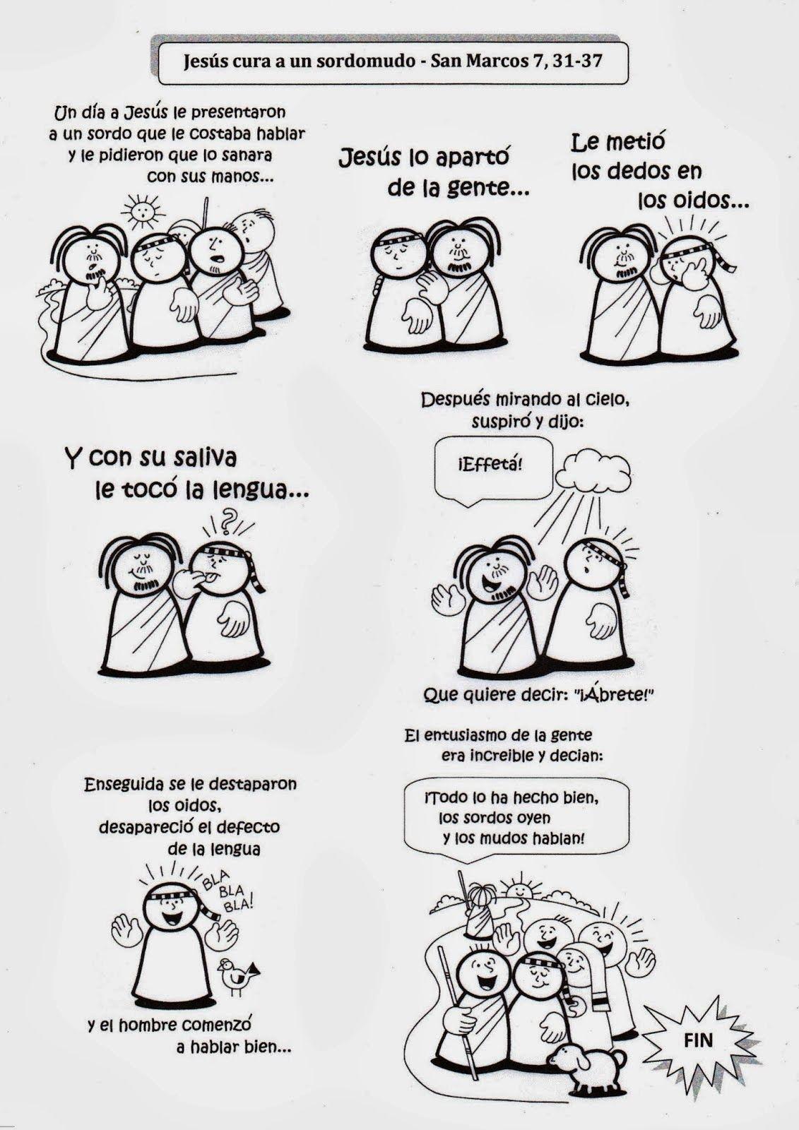 SGBlogosfera. Amigos de Jesús: JESÚS CURA A UN SORDOMUDO | Catholic ...
