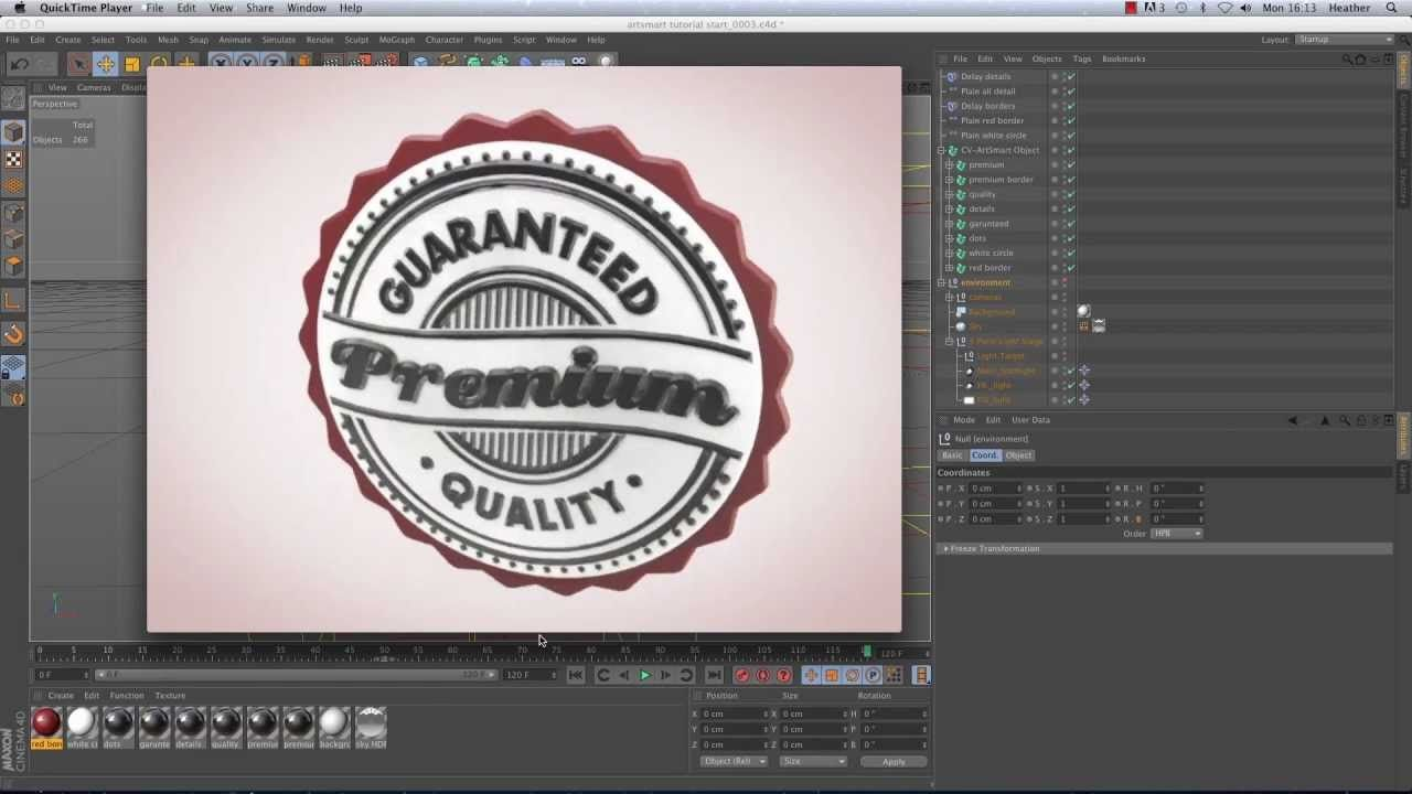 How to import Illustrator files into CINEMA 4D Using ArtSmart