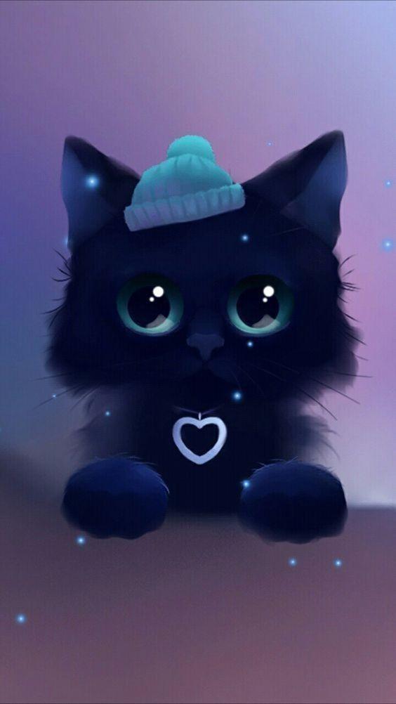 Cute Kitten Cute Animal Drawings Cute Anime Cat Cute Animal Drawings Kawaii