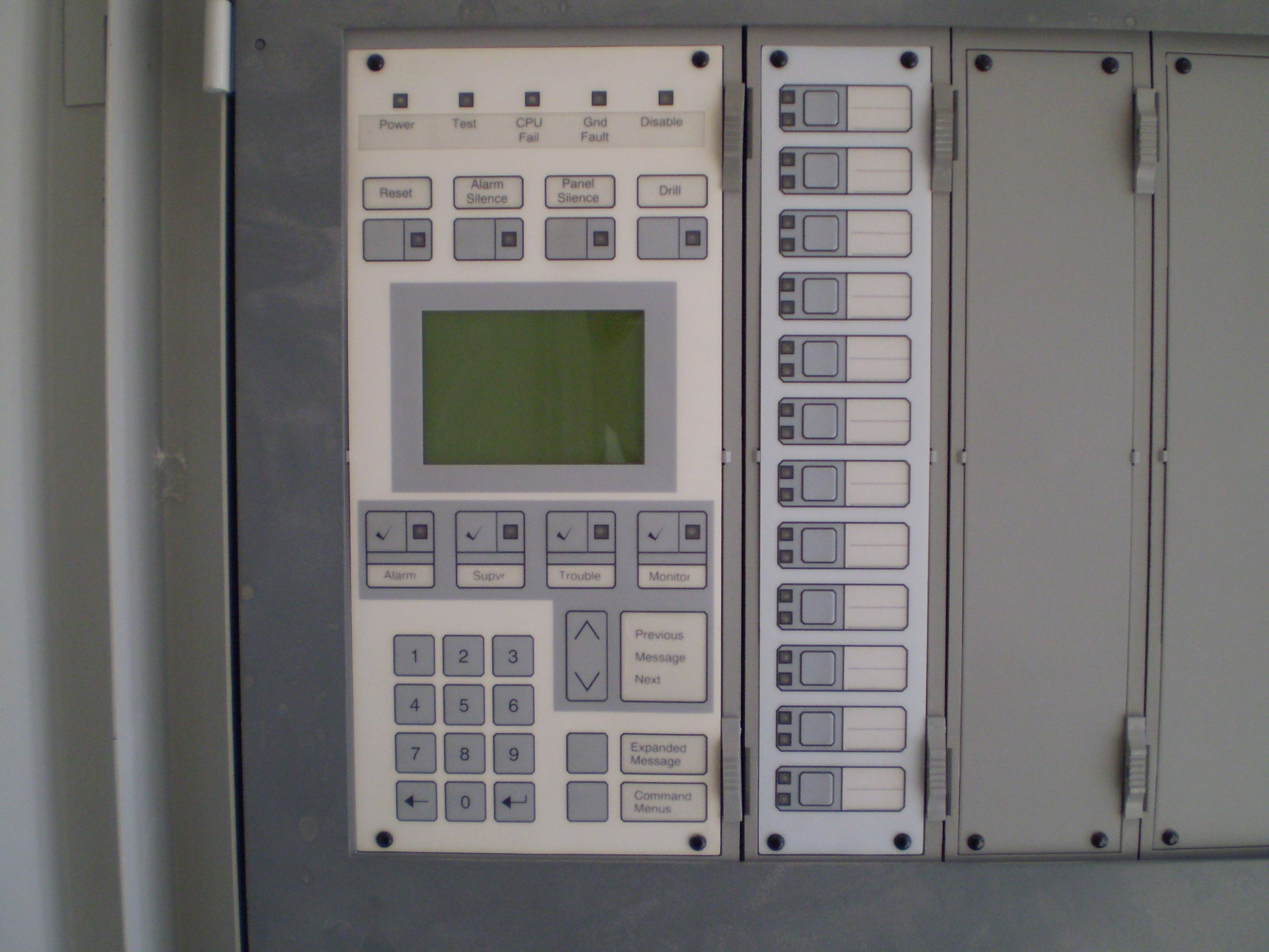Siemens Fire Alarm Control Panel Facp Danfoss Controls Wiring Diagram Vfd During Commissioning