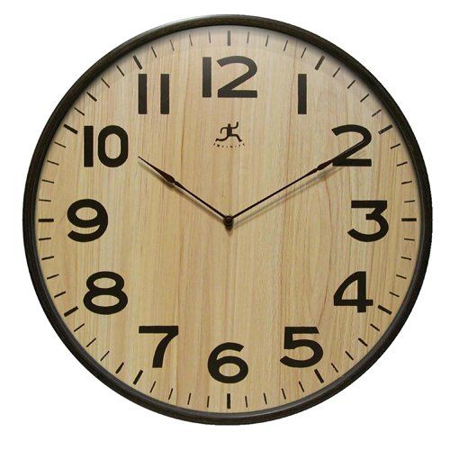 Infinity Instruments Arbor I 21 Wood Wall Clock Infinity Instruments Http Www Amazon Com Dp B003y59xfg Ref Cm Sw R Wall Clock Wood Wall Clock Wooden Clock