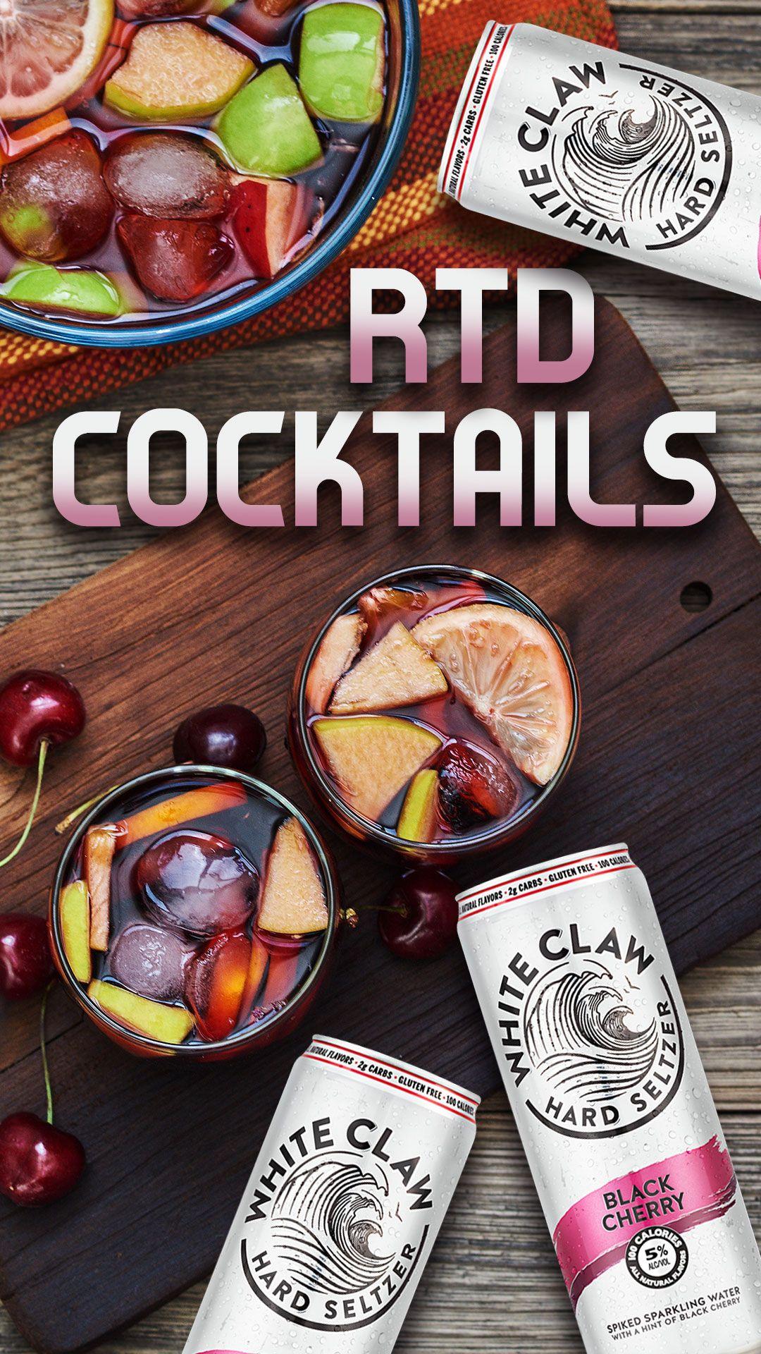 Hard seltzer cocktails specs wines spirits finer