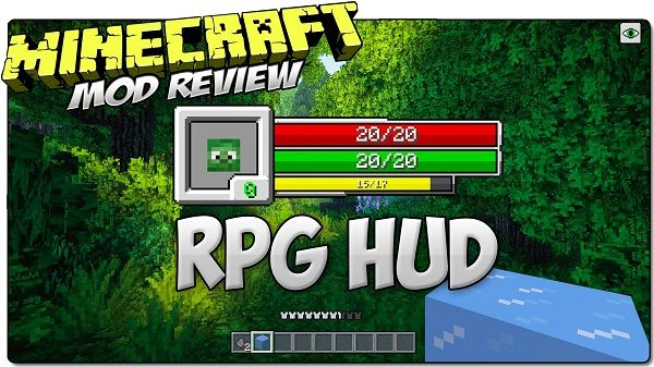 New post (RPG-Hud Mod 1.7.10) has been published on RPG-Hud Mod 1.7.10  -  Minecraft Resource Packs