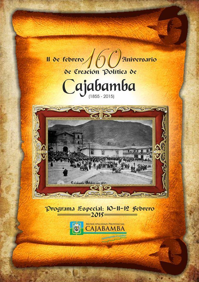 Aniversario de la Provincia de Cajabamba