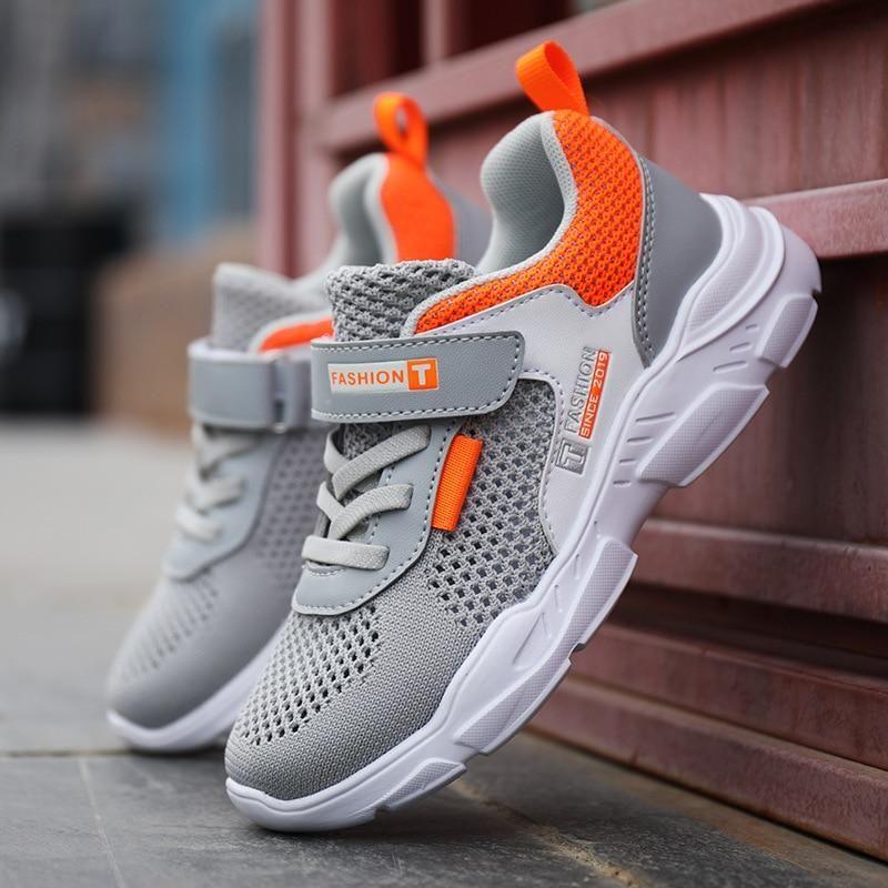 Autumn Boys Sports Shoes Hook Loop Men Sneaker Children Running for Kids