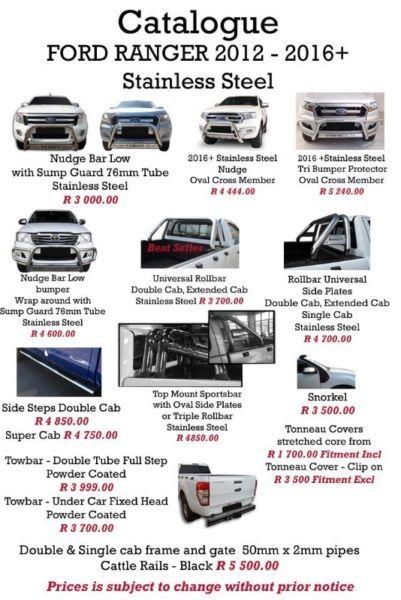 Ford Till Vw Nudge Bars Side Steps Roll Bars Centurion Gumtree South Africa 167457729 Ford Ranger Ford Ranger 2012 Buy And Sell Cars