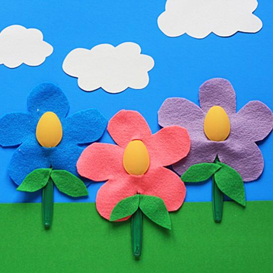 Turn ordinary plastic spoons into a colorful garden the kids will love. A great project anytime or a fun Mother's Day gift.