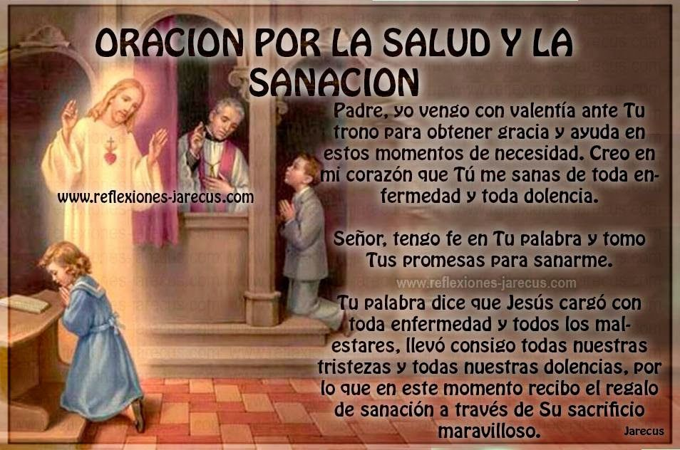 oracion catolica por mi salud