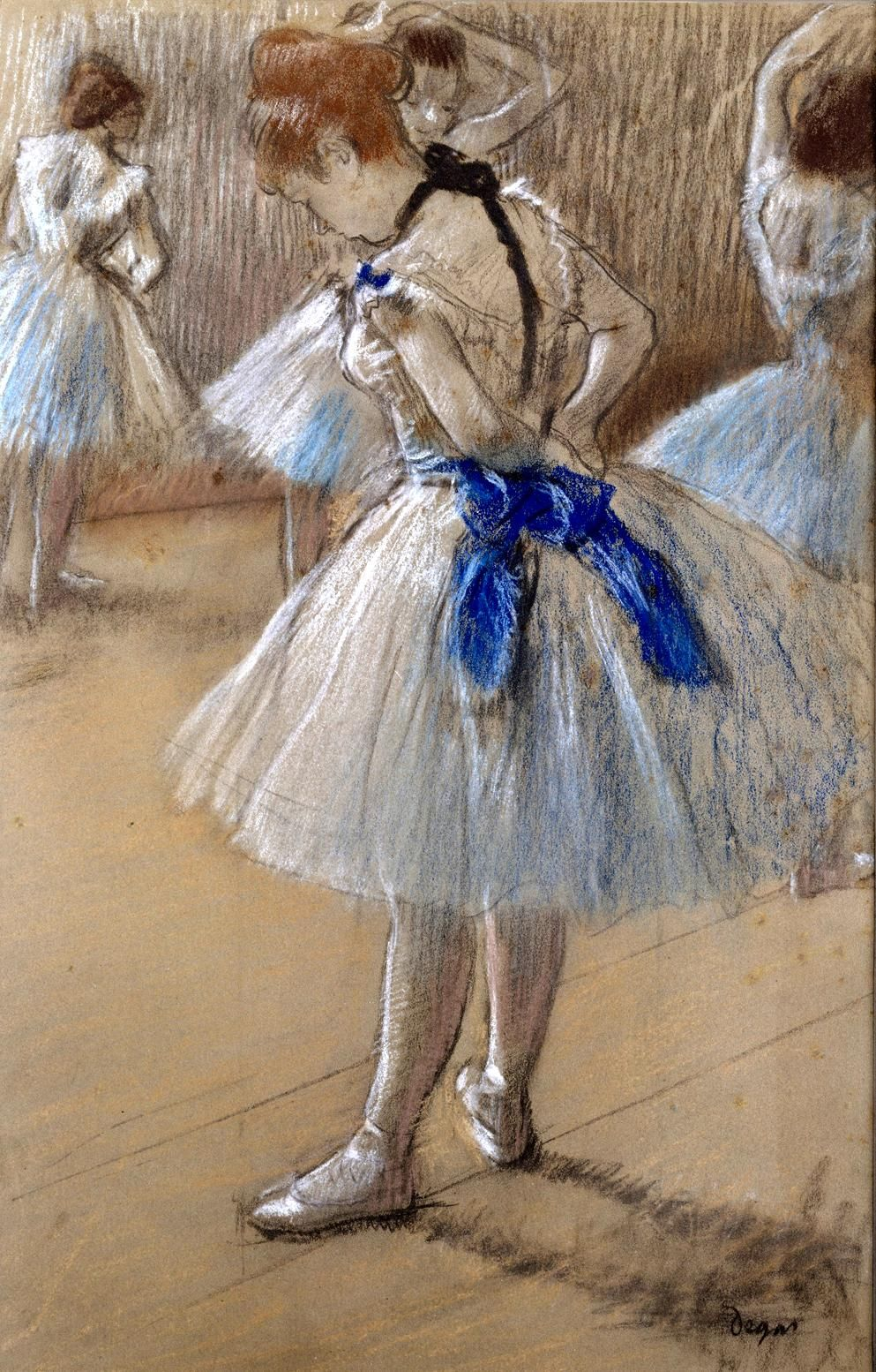 Danseuse (Dancer) Edgar Degas (1834 1917), born Hilaire
