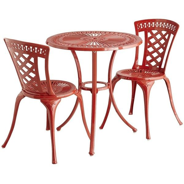 Pier 1 Imports Neely Bistro Set ($300) liked on Polyvore ...