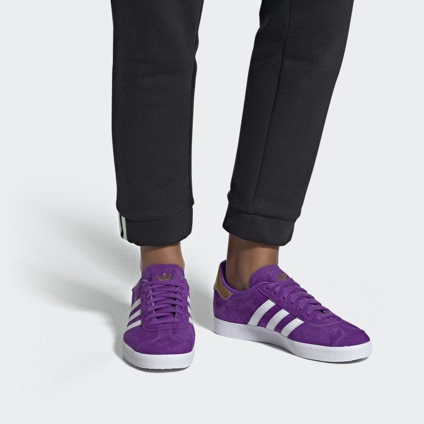 adidas gazelle lilla