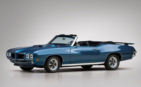 1970 Pontiac GTO Ram Air III Convertible - Car Pictures