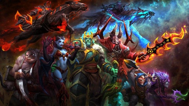 download dota 2 treasure of the cursed weaponry loading screen