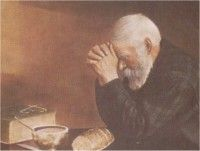 Grace Old Man By Eric Enstrom Loved Image Of Old Man Praying At