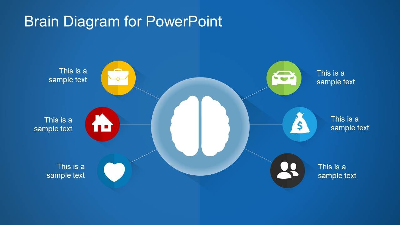 Brain Diagram Powerpoint Template Top Medical Powerpoint Templates