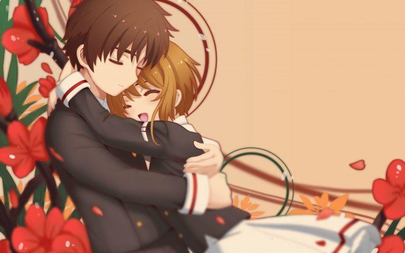 Syaoran Li Sakura Kinomoto Cardcaptor Sakura Anime Couple Cardcaptor Sakura Anime Romantic Anime