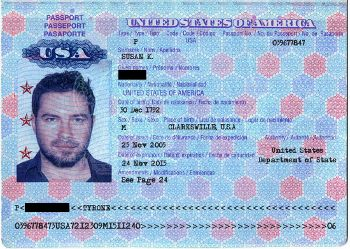 The curious thing about this particular passport is not necessarily that this…