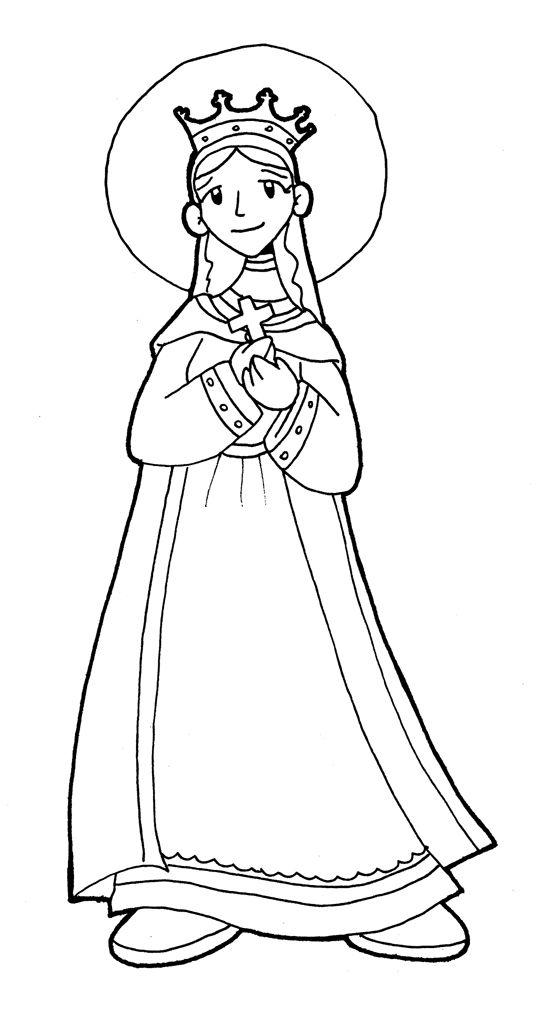 Dibujos para catequesis: SANTA MATILDE | CD | Pinterest | Familias ...