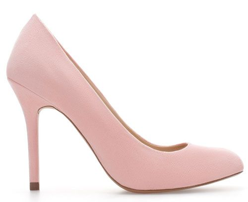 953eec94eee Pale pink pumps from Zara | Style:) | Pink pumps, Pink high heels ...